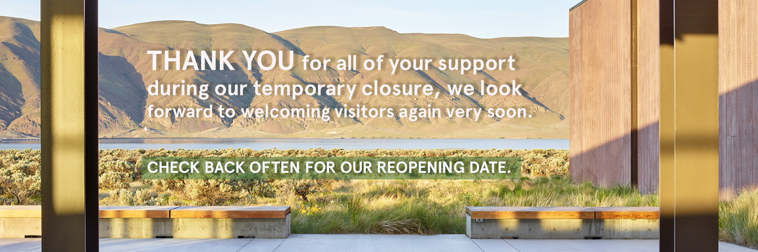 Thank you for all of your support during our temporary closure, we look forward to welcoming visitors again ver soon. Check back often for our reopening date.